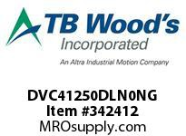 TBWOODS DVC41250DLN0NG INV DVC NEMA12 460V 125HP