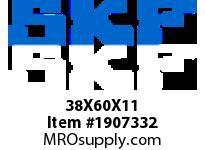 SKFSEAL 38X60X11 HMSA123 P SMALL BORE SEALS
