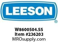 LEESON W8600504.55 H860-15-H-55