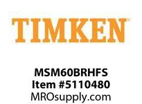 TIMKEN MSM60BRHFS Split CRB Housed Unit Assembly