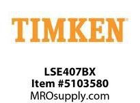 TIMKEN LSE407BX Split CRB Housed Unit Component