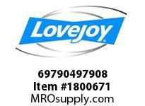 LoveJoy 69790497908 SX158-6 1-3/4X2-1/4 BSE=5