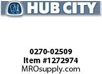 HubCity 0270-02509 GW7007 200/1 UL OR UR PRIMARY