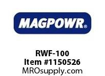 MagPowr RWF-100 Rotary Water Fitting for C-100 Wate MAGNETIC PARTICLE CLUTCH AND BRAKE