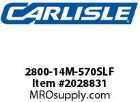 Carlisle 2800-14M-570SLF Rpp Plus Sleeve 14Mf Fin Fan
