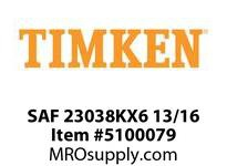 TIMKEN SAF 23038KX6 13/16 SRB Pillow Block Assembly