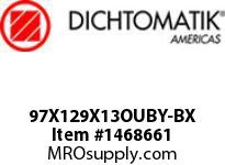 Dichtomatik 97X129X13OUBY-BX DISCONTINUED
