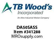 TBWOODS DA50SASS DA50 SPACER ASSEMBLY SS DISC