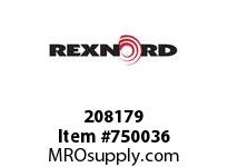 REXNORD 208179 591997 312.S71-8.CPLG STR SD