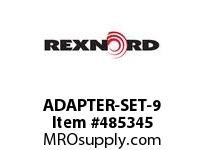 REXNORD 6103561 ADAPTER-SET-9 ADAPTER FOR DRIVEMASTER1