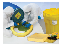 MBT HZSK-30 Hazmat spill kits are placed in areas where aggressive/caustic fluids are stored or used. Choose from various size containers and contents depending on your particular :