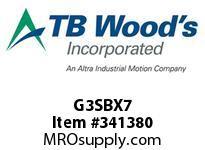TBWOODS G3SBX7 3X7 SB SPACER