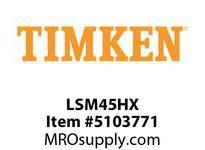 TIMKEN LSM45HX Split CRB Housed Unit Component