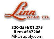 Linn-Gear 830-25FBX1.375 LSB SPROCKET  H1