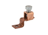 NSI DE706 COPPER SOLDERLESS LUG 1/0-6 AWG 1/4^ MTG HOLE