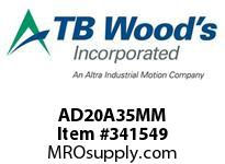 TBWOODS AD20A35MM AD20-AX35MM FF COUP HUB