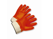 West Chester 1017OR Safety Cuff Orange Foam Lined PVC Glove