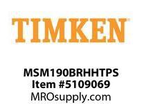 TIMKEN MSM190BRHHTPS Split CRB Housed Unit Assembly