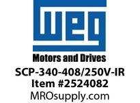WEG SCP-340-408/250V-IR START CAP 340-408/250V IR MTRS Motores