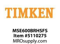 TIMKEN MSE600BRHSFS Split CRB Housed Unit Assembly