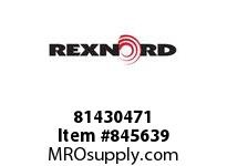 REXNORD 81430471 WX879TK3.25 WX879 TAB 3.25 INCH WIDE TABLETOP C