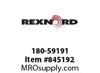 REXNORD 180-59191 TUBE END THREADED 1/2-13