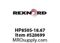 REXNORD HP8505-18.67 HP8505-18.66 169443