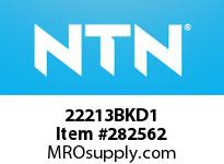 NTN 22213BKD1 SPHERICAL ROLLER BRG D<=203.2