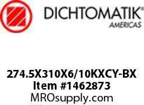 Dichtomatik 274.5X310X6/10KXCY-BX OIL SEAL