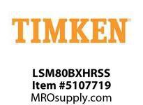 TIMKEN LSM80BXHRSS Split CRB Housed Unit Assembly