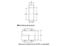 Koyo Bearing WJ-323812 NEEDLE ROLLER BEARING CAGE AND ROLLER ASSEMBLY