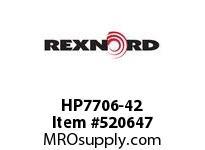 REXNORD HP7706-42 HP7706-42 134690