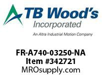 TBWOODS FR-A740-03250-NA CT INV.250HP(ND) 200HP(HD)480V