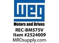 WEG REC-BM575V RECTIFIER 575V FOR BRAKE MOTOR Integrals