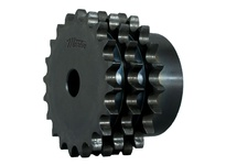 E20C42 C-Hub Metric Triple Roller Chain Sprocket