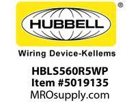 HBL_WDK HBLS560R5WP SW RECP4P5W60A 347/600V4X/IP69PILOT