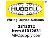 HBL-WDK 03313012 GRIP WSTRN ELEC 3.00-3.50 3 STL