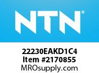 NTN 22230EAKD1C4 SPHERICAL ROLLER BEARING