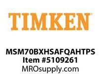 TIMKEN MSM70BXHSAFQAHTPS Split CRB Housed Unit Assembly