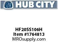HubCity HF20SS106H HUB HF20SSX1-3/8 HUBFLEX Coupling Component