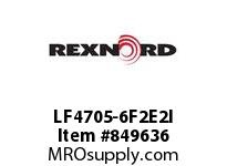 REXNORD LF4705-6F2E2I LF4705-6 F2 T2P N1.378 LF4705 6 INCH WIDE MATTOP CHAIN WIT