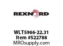 REXNORD WLT5966-22.31 WLT5966-22.3125 144052