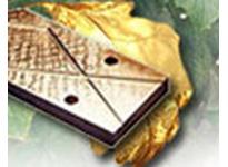 BUNTING B954W005064-IN 8 x 5/8 x 1 C95400 Cast Bronze Wearplate C95400 Cast Bronze Wearplate