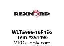 REXNORD WLT5996-16F4E6 WLT5996-16 F4 T6P WLT5996 16 INCH WIDE MATTOP CHAIN W