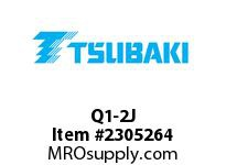 US Tsubaki Q1-2J SPLIT TAPER BUSHINGS Q1-2 5/8 SPLIT TAPER