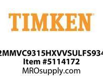 TIMKEN 2MMVC9315HXVVSULFS934 Ball High Speed Super Precision
