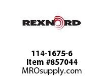 REXNORD 114-1675-6 CT 882BEVK750 R24 2LN SP