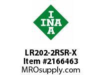 INA LR202-2RSR-X Yoke type track roller