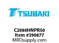 US Tsubaki C2080HNPR50 C2080HNP RIVETED 50 FT