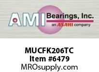 AMI MUCFK206TC 30MM STAINLESS SET SCREW TEFLON 3-B